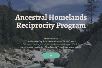 Ancestral Homelands Reciprocity Program