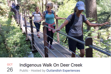 Indigenous Walk On Deer Creek